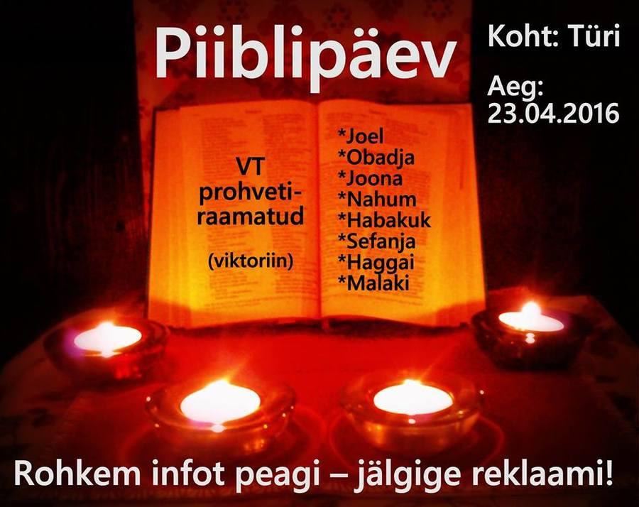piiblipaev